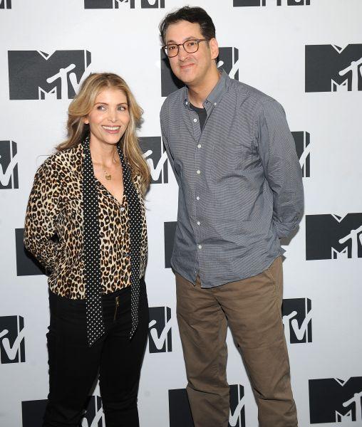 Deborah Kaplan and Harry Elfont at the 2016 MTV Press Junket in New York City.