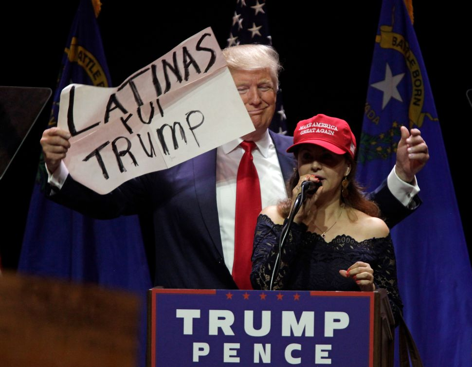 President Donald Trump has a smattering of Latino support, but his administration has largely ignored Hispanic media.