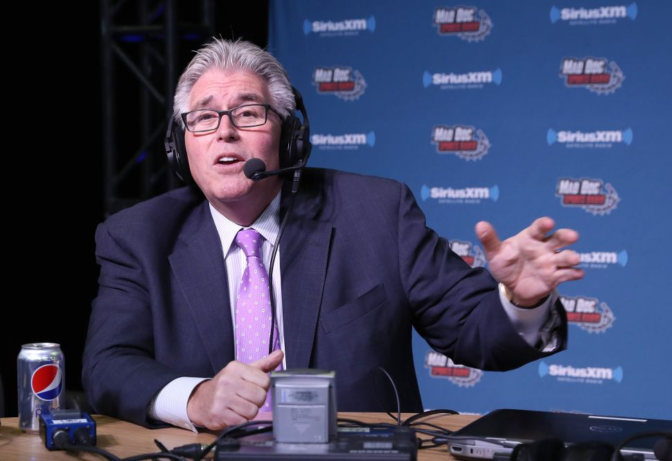 Is Mike Francesa headed out the door at WFAN?