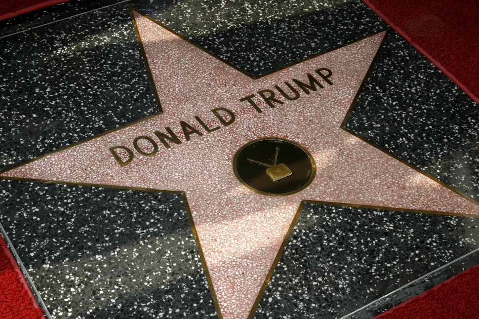 Donald Trump Star Hollywood Walk Of Fame