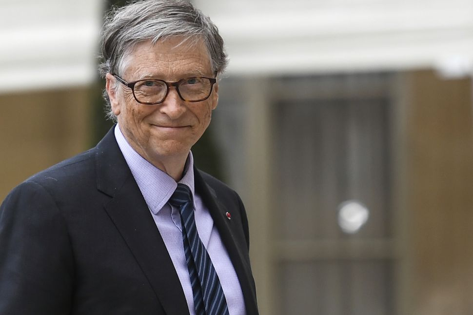 Bill Gates had an epiphany after reading a new book by two British economists.
