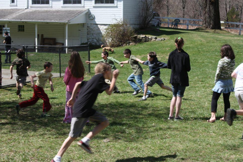 homeschooling co-op recess games