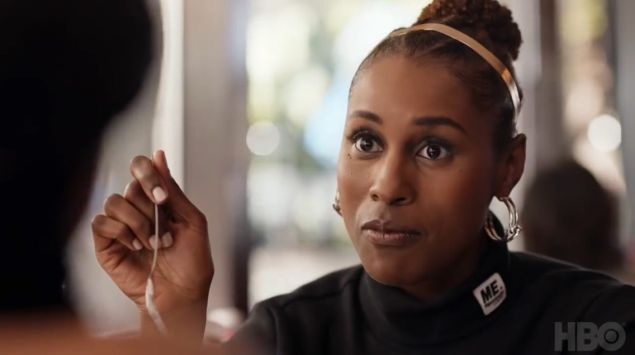 Issa Rae in Season 3 of HBO's Insecure.