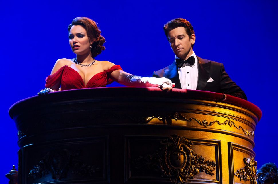 Samantha Barks and Andy Karl in Pretty Woman the Musical.