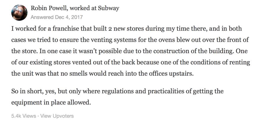 Subway Conspiracy Theory Whistleblower