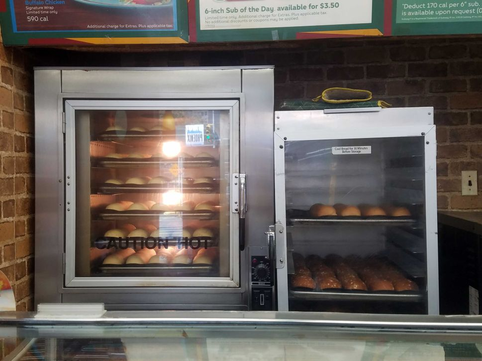 Does Subway's bread smell actually come from the baking bread? Who's to say?