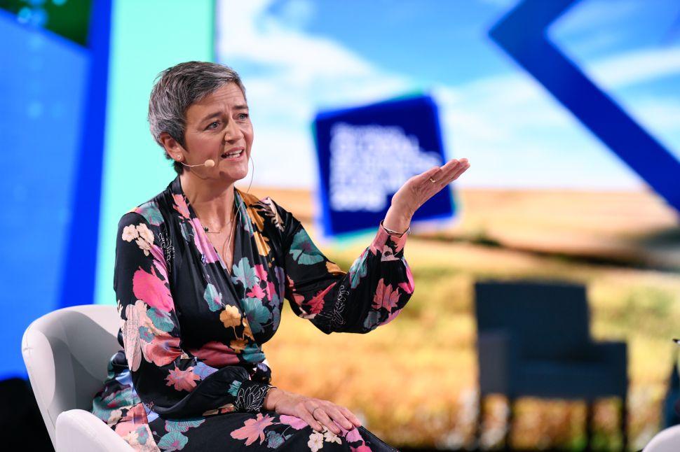 Margrethe Vestager of EU