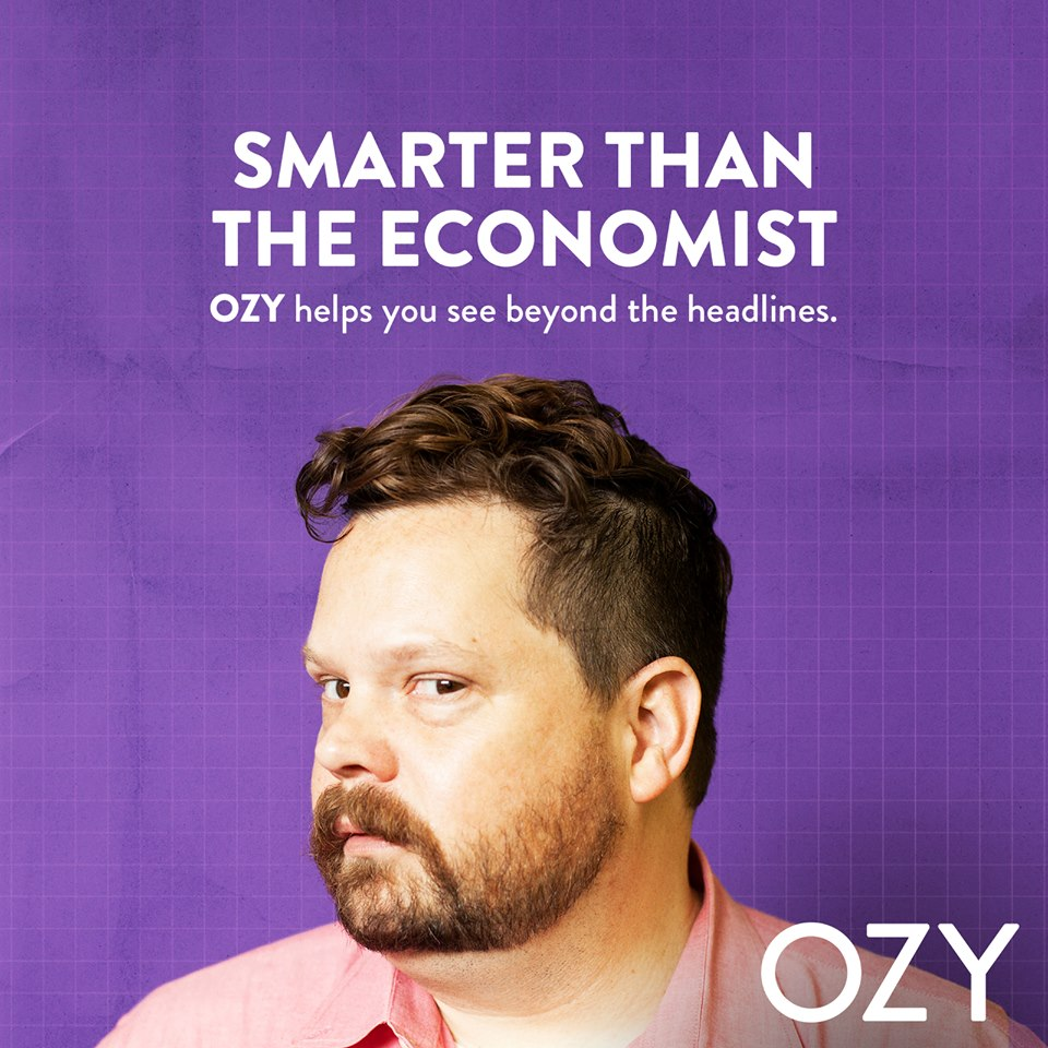 Thanks to the free market, we can tell Ozy this isn't a good look.