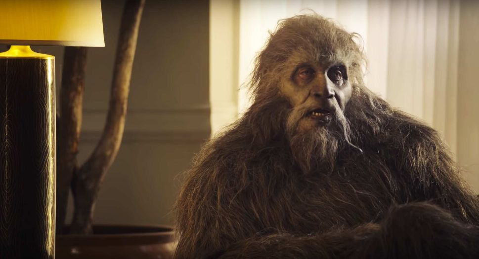 Bigfoot is here, and he's not pleased with Big Pharma.