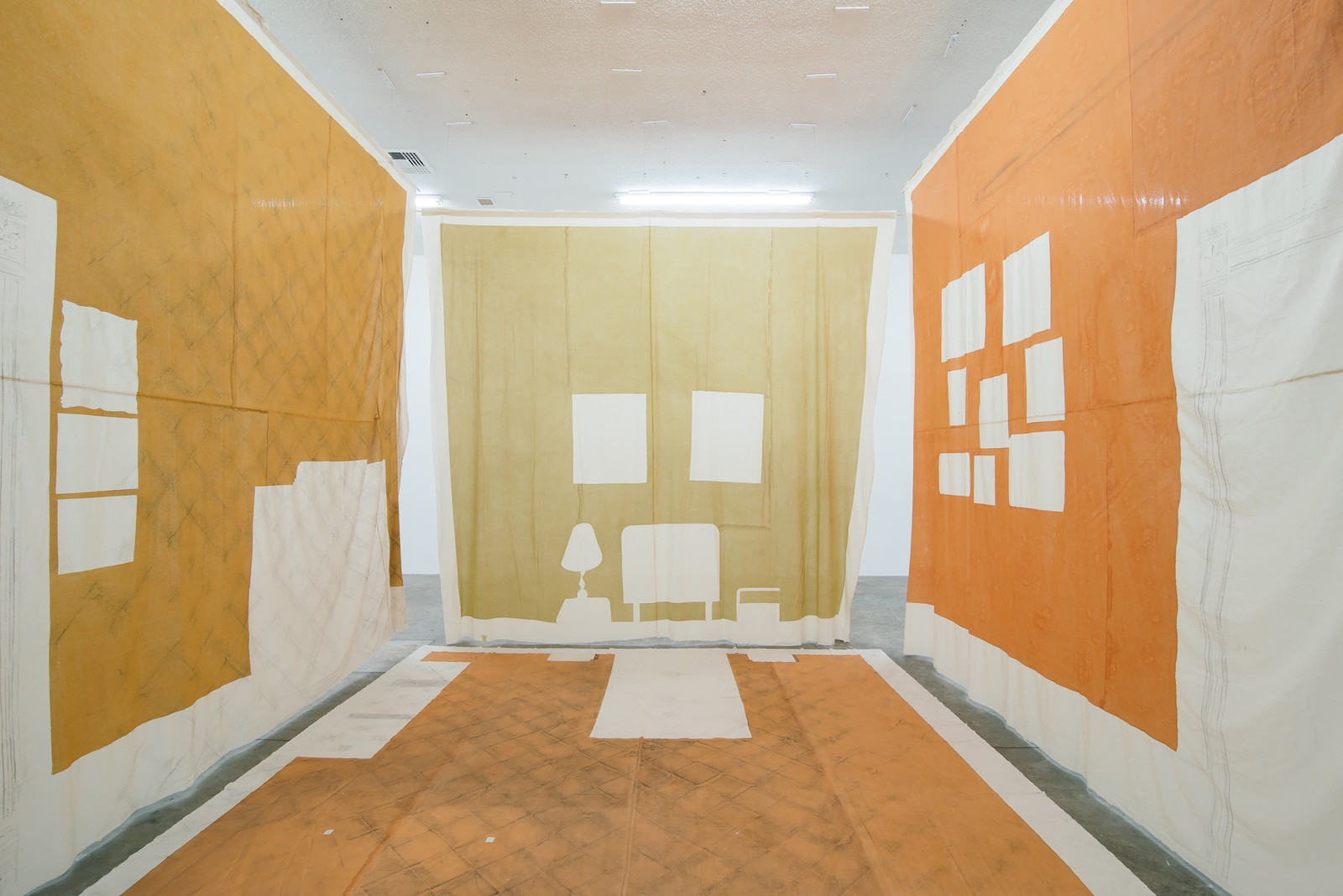 Carmen Argote, My father's side of home, 2014. IN/SITU, curated by Pablo León de la Barra (Curator at Large, Latin America, Solomon R. Guggenheim Museum).