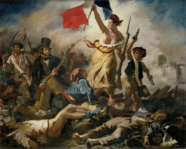 Eugène Delacroix, Liberty Leading the People, 1830. Oil on canvas.