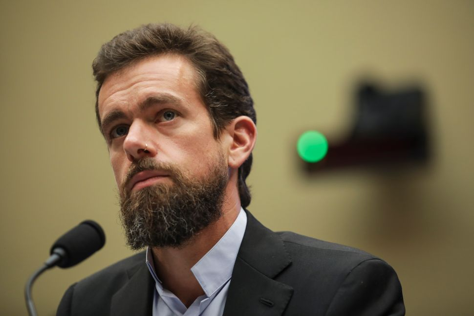 Jack Dorsey spent the day listening to Democrats troll Republicans.