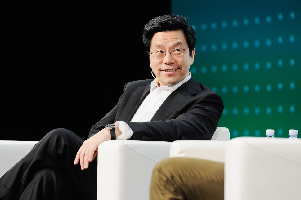 Kai-Fu Lee TechCrunch Disrupt San Francisco 2018 - Day 1