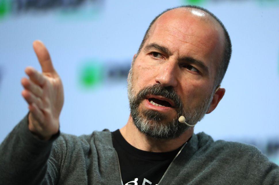 CEO of Uber Dara Khosrowshahi Addresses The TechCrunch Distrupt Conference