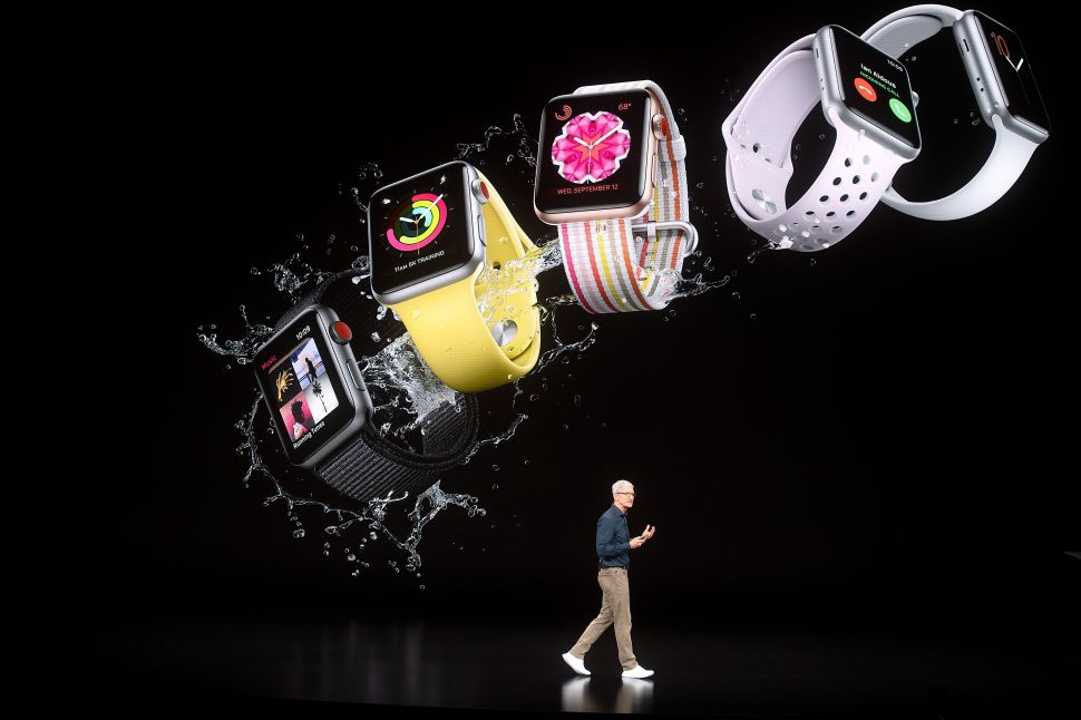 Apple introduced a new version of its Apple Watch on September 12.