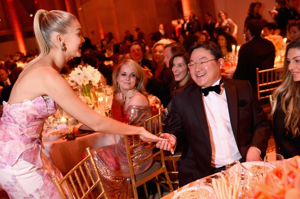 Jho Low at Angel Ball 2014 hosted by Gabrielle's Angel Foundation at Cipriani Wall Street on October 20, 2014 in New York City.