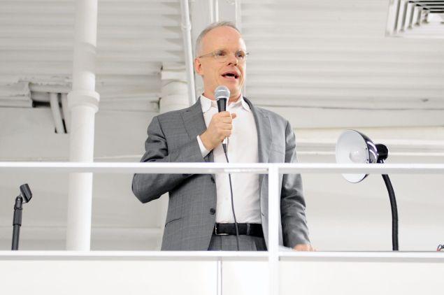 Hans Ulrich Obrist.