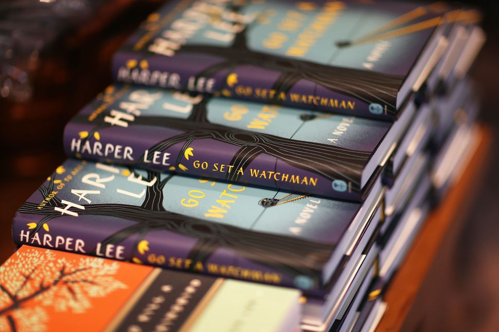 Copies of 'Go Set a Watchman' and 'To Kill a Mockingbird.'