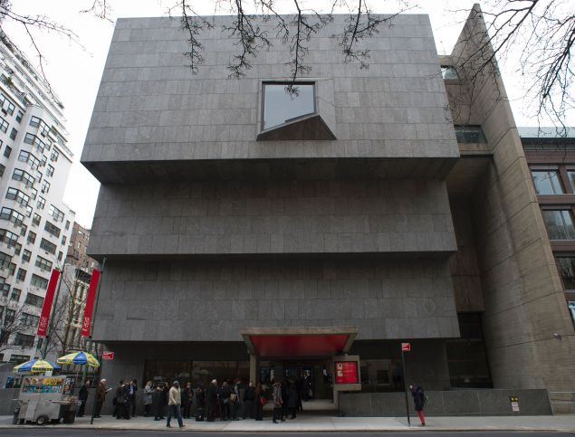 The Met Breuer, just after the Met had taken over the space from the Whitney, in 2016.