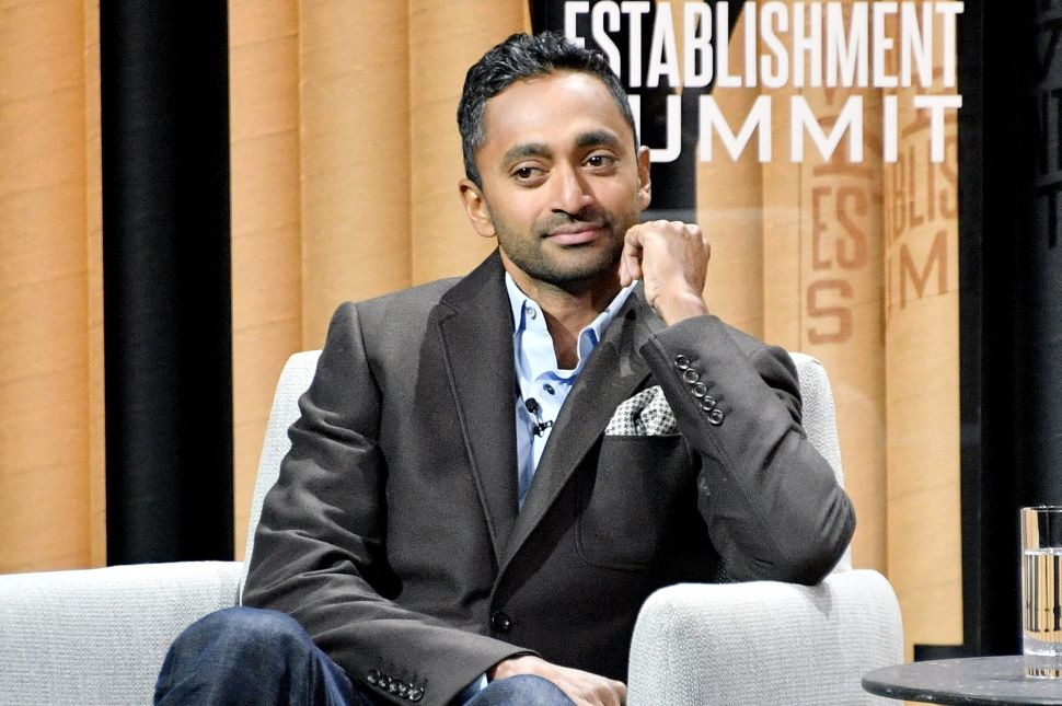 Chamath Palihapitiya , CEO of Social Capital