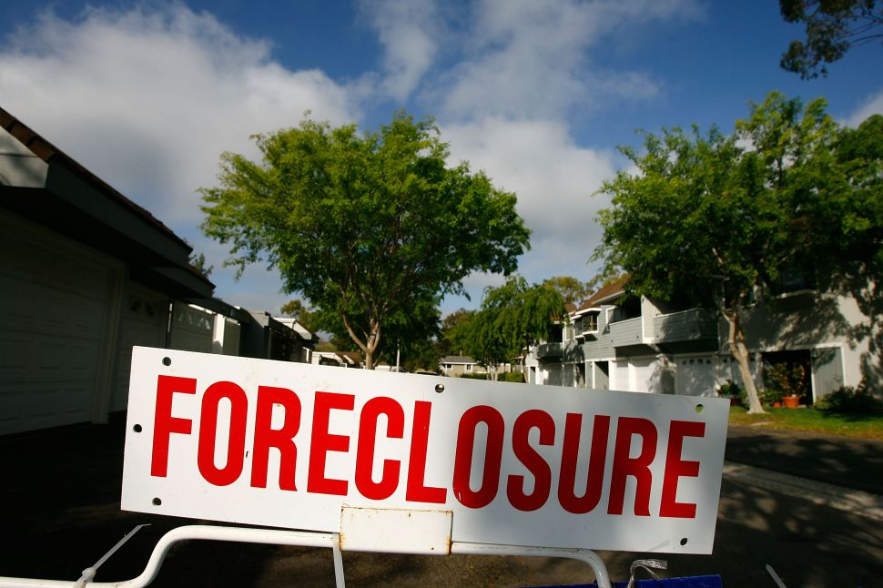 The bill calls for the state to buy foreclosed houses from banks and then sell or lease them to municipalities, developers or community development corporations for use as affordable housing.