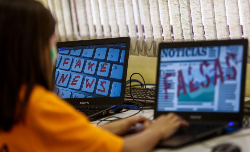 Fighting fake news on social media has become an election priority in Brazil.