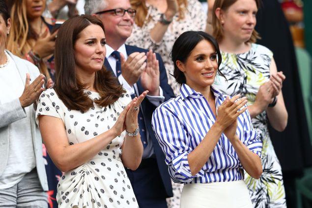 Kate Middleton and Meghan Markle Wimbledon