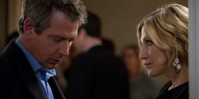 Ben Mendelsohn and Edie Falco in Land of Steady Habits.