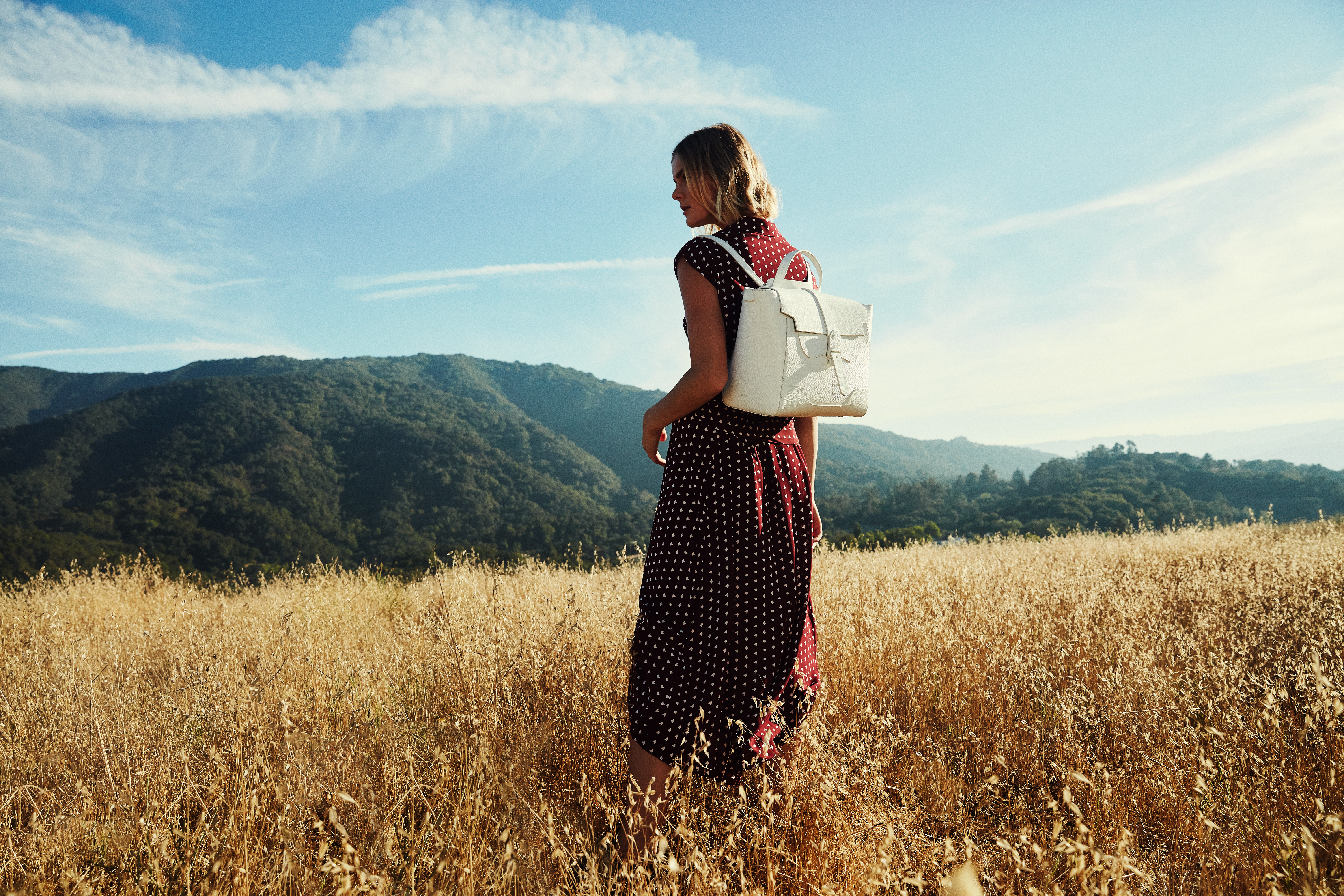 Senreve's Maestra (a sleek, convertible carry-all that can be worn as a satchel, tote, crossbody, or backpack) is so popular it's almost perpetually on backorder.