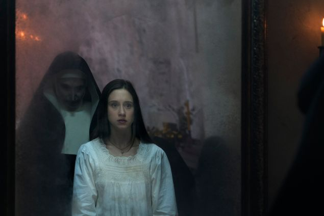 Taissa Farmiga in The Nun.