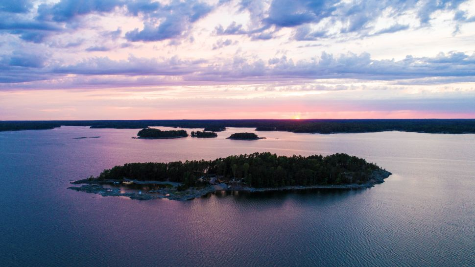 This July, SuperShe Island opened for business, inviting women—and only women—to visit the 8.4-acre plot of land in the middle of the Baltic Sea.