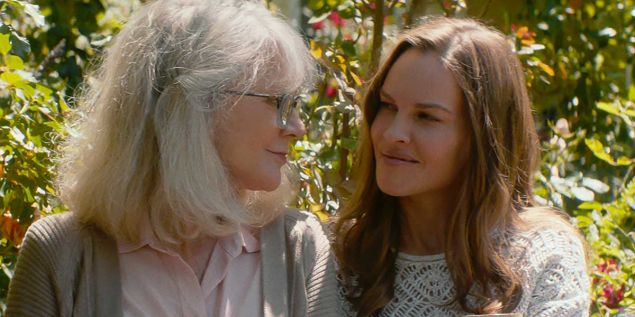 Blythe Danner and Hillary Swank in What They Had.