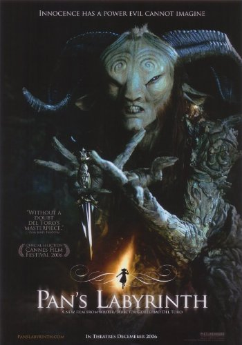 The movie poster from Pan's Labyrinth.