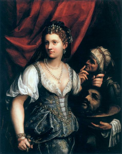 Fede Galizia, Judith with the Head of Holophernes, ca. 1610.