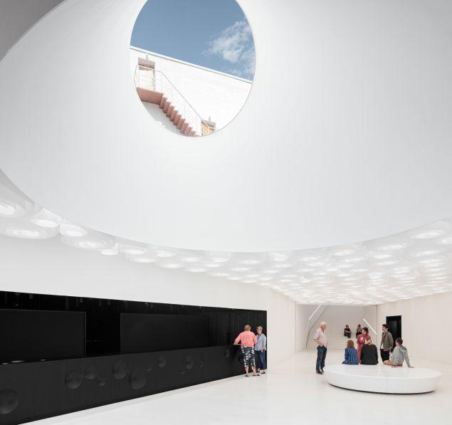 Amos Rex Art Museum in Helsinki.