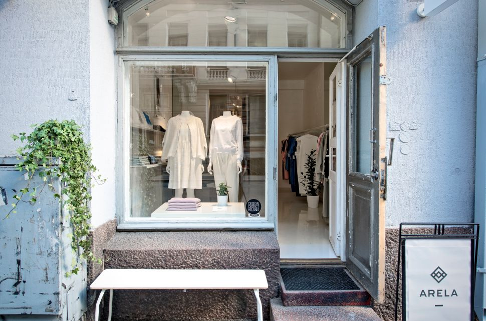 Arela, a clothing shop in the Design District.