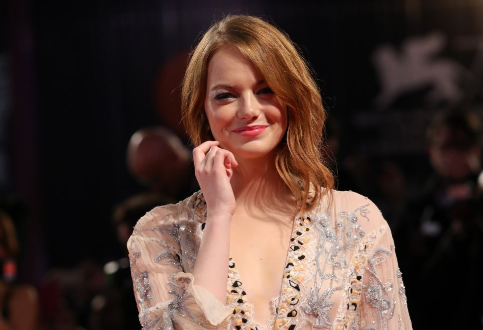Emma Stone walks red carpets with ease, but only after a long struggle with anxiety.
