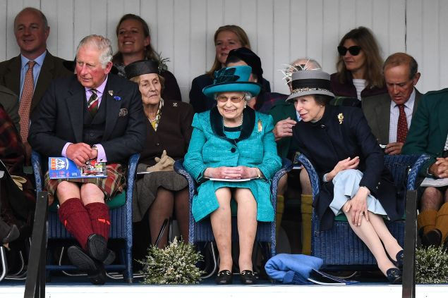 royal family at braemar games