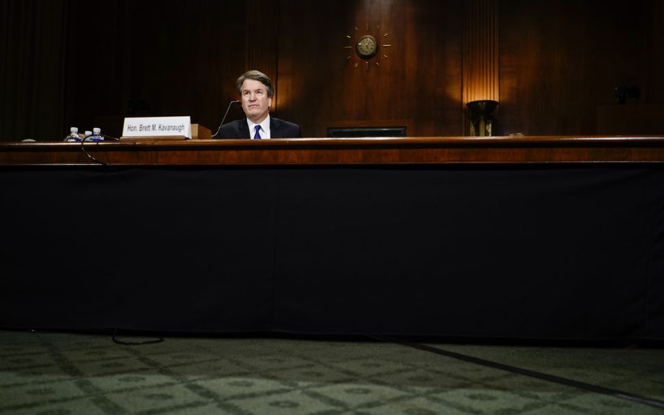 Supreme Court nominee Brett Kavanaugh testifies before the Senate Judiciary Committee,