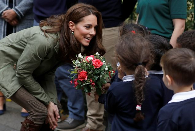 Kate Middleton return from maternity leave