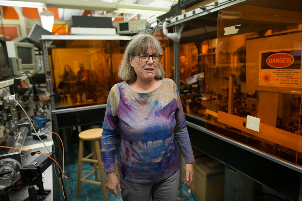 Nobel Prize-winning physicist Dr. Donna Strickland is now on Wikipedia.