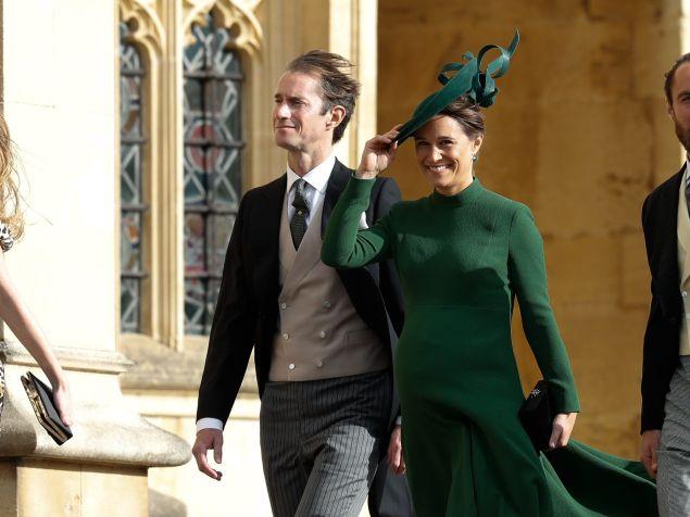 Pippa Middleton and James Matthews baby