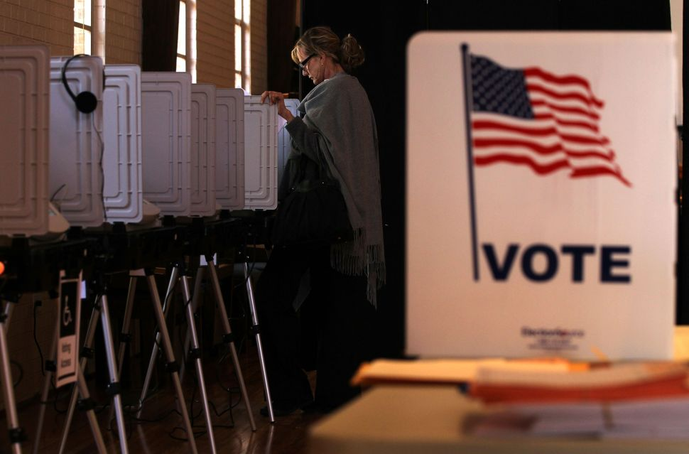 New Jersey is one of the few states where Democrats are outperforming Republicans in early voting.