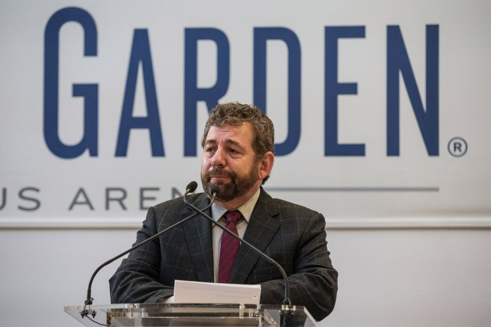 James Dolan has his knives out for WFAN.