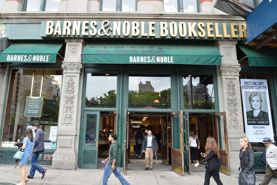 Barnes & Noble has had five CEOs in the last six years.