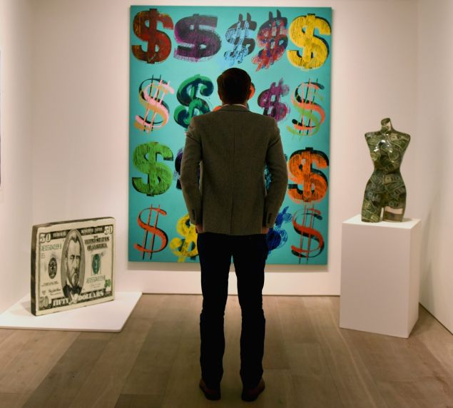 Are more and more collectors seeing their art as fast cash items to leverage for loans?