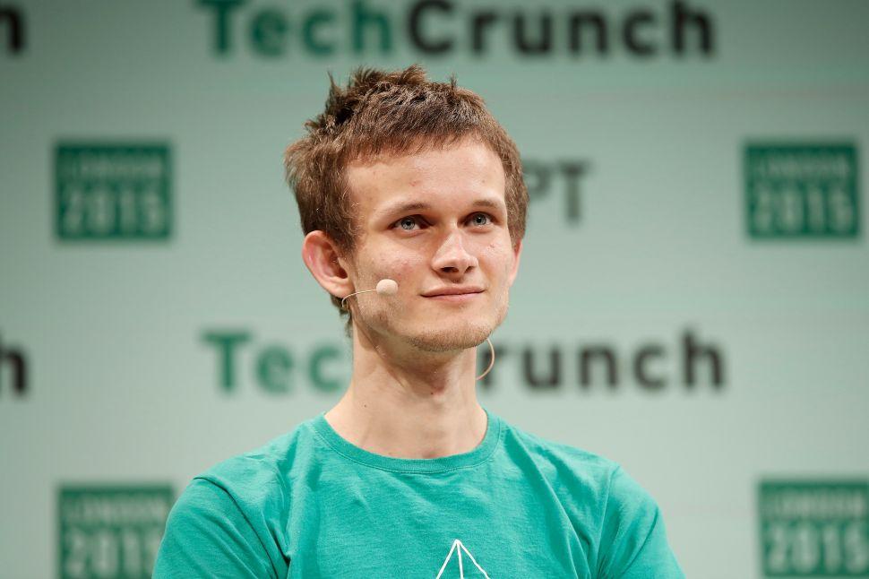 Vitalik Buterin, founder of Ethereum.