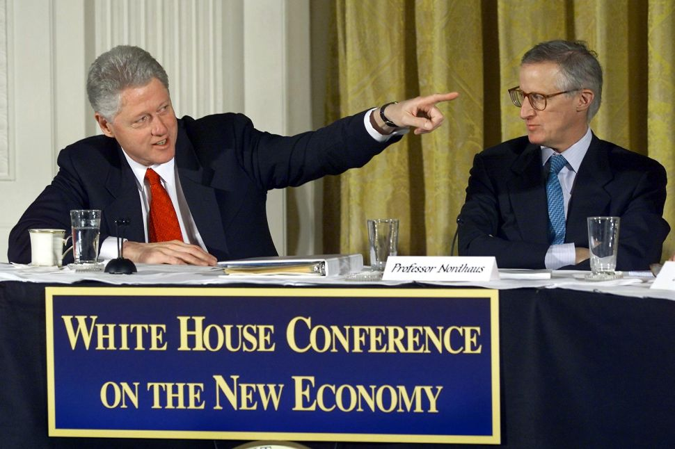Bill Clinton and Nordhaus