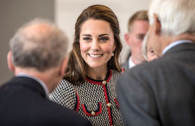 Kate Middleton at Victoria and Albert Museum