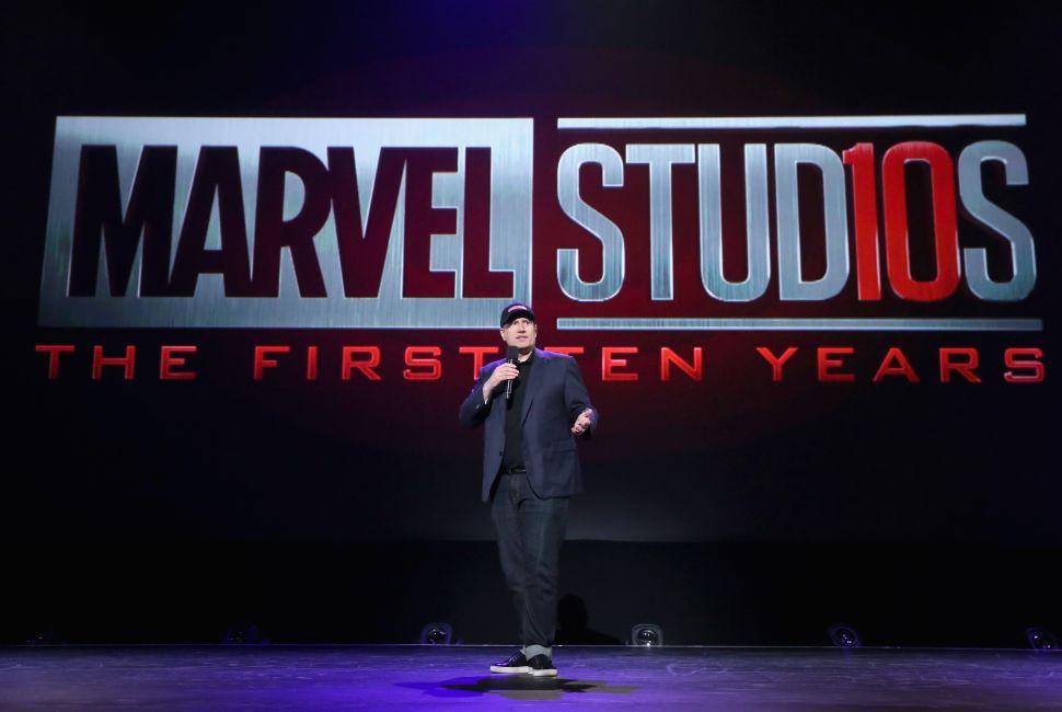 Kevin Feige Marvel Cinematic Universe